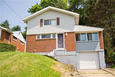 Wilkins Twp Single Family Home For Sale: 154 Queenston