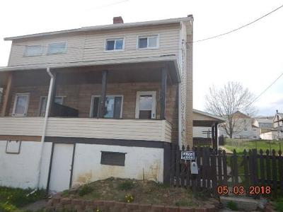 Somerset/Cambria County Single Family Home For Sale: 1263 3rd St