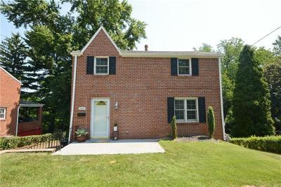 Wilkins Twp Single Family Home For Sale: 3925 Dowling Avenue