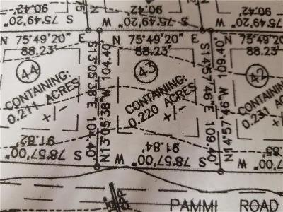 Somerset/Cambria County Residential Lots & Land For Sale: Lot 43 Pammi Road