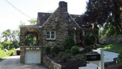 Bethel Park PA Single Family Home Sold: $244,900