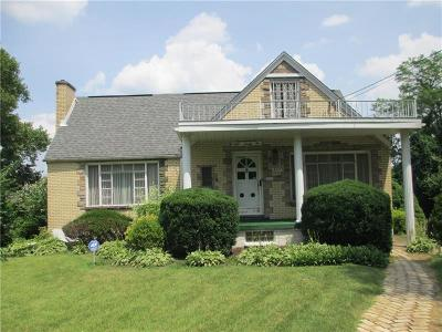 Churchill Boro Single Family Home For Sale: 822 Graham Blvd