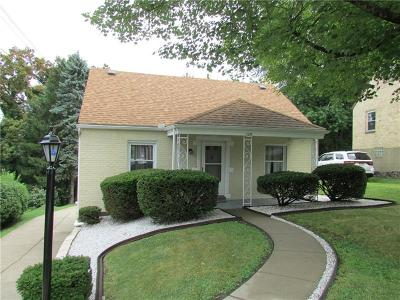 Wilkins Twp Single Family Home Contingent: 129 Gardenia Drive