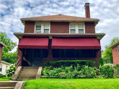 Regent Square Single Family Home Contingent: 1021 Macon Ave