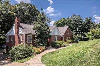 Penn Hills Single Family Home Contingent: 159 Glenfield Drive