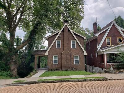 Wilkinsburg Single Family Home Contingent: 1332 Sherman St