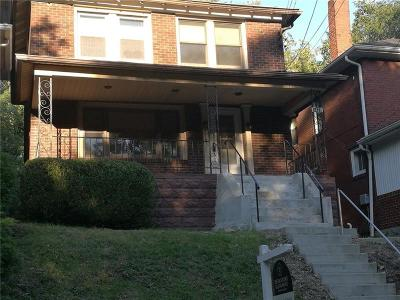 Regent Square Single Family Home For Sale: 1437 Macon Ave