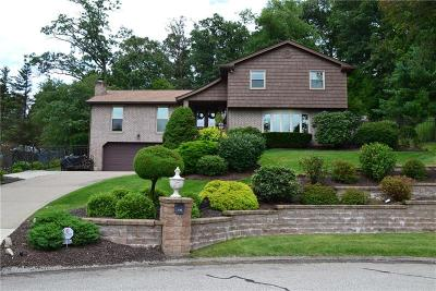 Murrysville Single Family Home Contingent: 3195 Beverly Ct