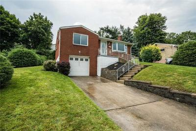North Huntingdon Single Family Home For Sale: 12429 Adams Dr