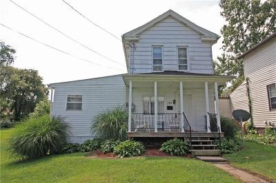 Connellsville PA Single Family Home For Sale: $69,000