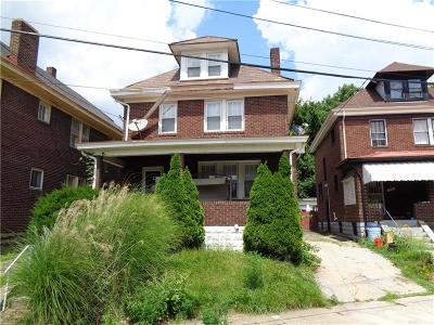 Wilkinsburg Single Family Home Active Under Contract: 817 Woodworth Ave