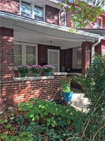 Regent Square Single Family Home For Sale: 302 West Street
