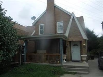 Mt. Lebanon Single Family Home For Sale: 172 Cochran