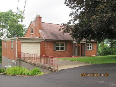 Peters Twp PA Single Family Home Sold: $184,500