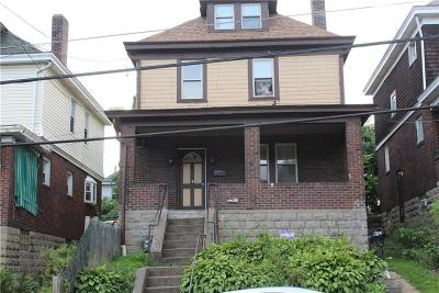 Wilkinsburg Single Family Home For Sale: 1507 Center Street