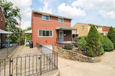 Squirrel Hill PA Single Family Home Contingent: $174,900