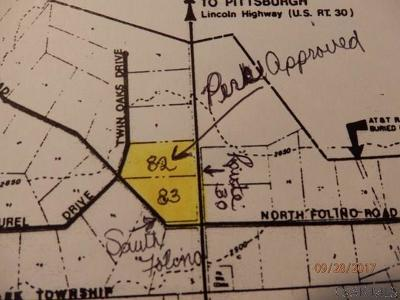 Somerset/Cambria County Residential Lots & Land For Sale: Lot #83 South Folina