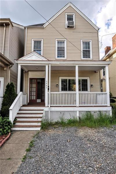 Shadyside Single Family Home For Sale: 5447 Potter Street