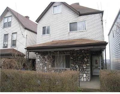 Swissvale Single Family Home For Sale: 2254 Milligan Ave