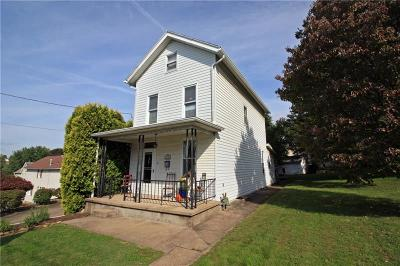 City Of Greensburg PA Single Family Home For Sale: $80,000