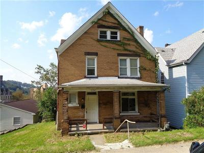 Wilmerding Single Family Home For Sale: 246 Welsh Ave