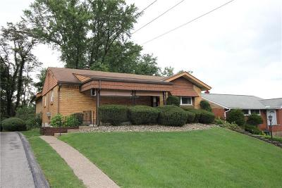 Wilkins Twp Single Family Home For Sale: 206 Dunbar Dr