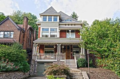 Squirrel Hill Single Family Home Contingent: 1132 Murray Hill