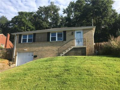 Forest Hills Boro Single Family Home For Sale: 1071 Brinton Rd