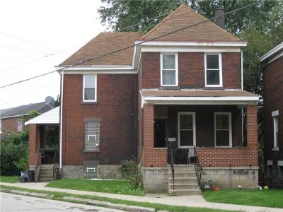 Swissvale Single Family Home For Sale: 2046 Monroe Street