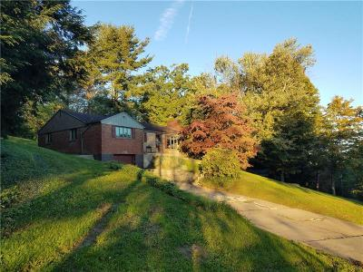 Upper St. Clair Single Family Home Active Under Contract: 232 Franklin Dr
