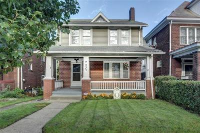 Swissvale Single Family Home For Sale: 7933 Westmoreland Avenue