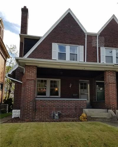 Shadyside Single Family Home For Sale: 325 S Negley Ave