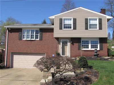 Penn Hills Single Family Home Contingent: 309 Woodstone Drive