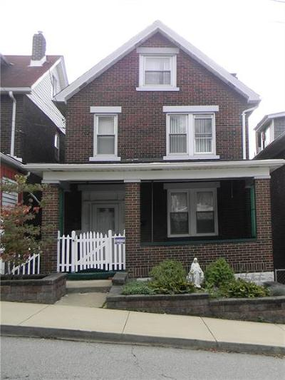 Swissvale Single Family Home For Sale: 2228 Milligan Ave