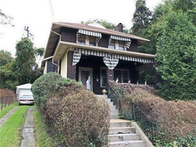 Swissvale Single Family Home For Sale: 7726 Stanton Ave