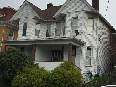 Jeannette Single Family Home For Sale: 126-128 N 2nd St