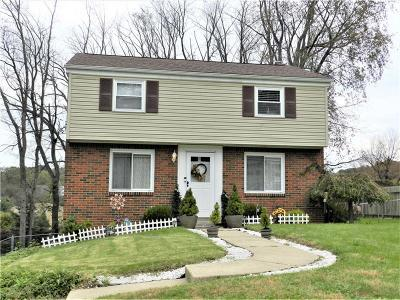 Murrysville Single Family Home Contingent: 69 Bel Aire Drive