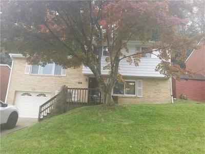 Wilkinsburg Single Family Home For Sale: 1140 Sperling Dr