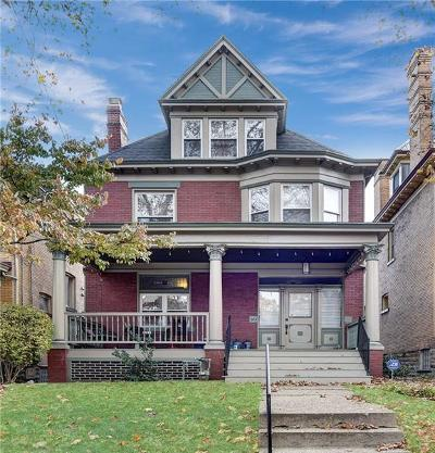 Regent Square Single Family Home For Sale: 313 W Hutchinson Ave