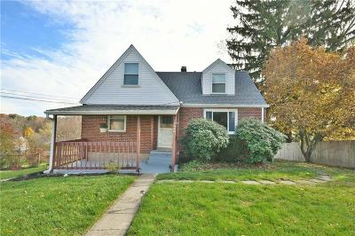 McCandless PA Single Family Home For Sale: $198,900