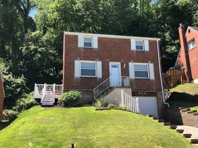 Wilkins Twp Single Family Home For Sale: 936 Roland Rd