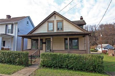 City Of Greensburg PA Single Family Home For Sale: $65,000