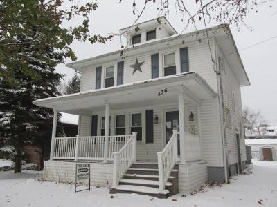Single Family Home For Sale: 436 W Church Street