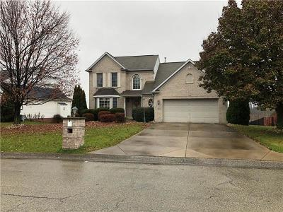 North Huntingdon Single Family Home For Sale: 8891 Hilltop Rd