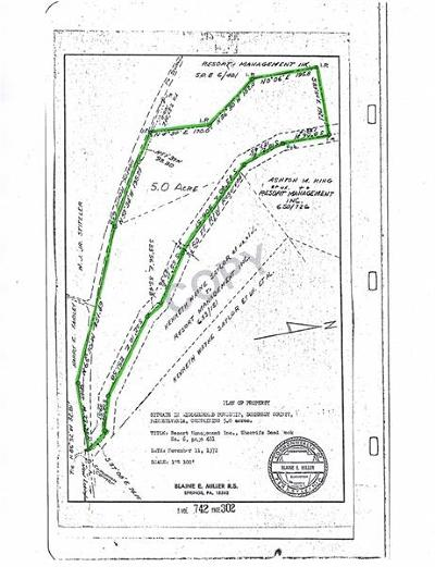 Somerset/Cambria County Residential Lots & Land For Sale: 119 Hilltop Dr.