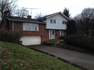 Upper St. Clair Single Family Home Active Under Contract: 533 Clair Dr
