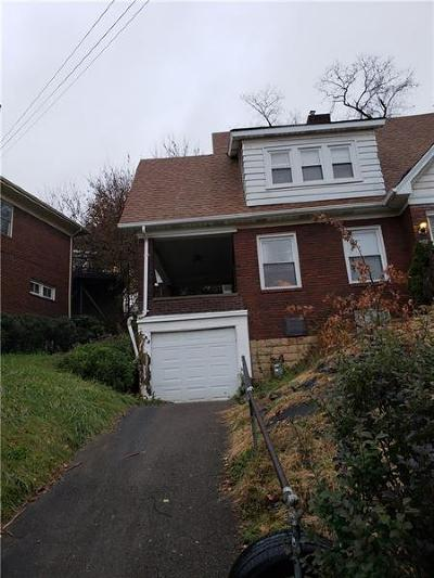 Wilkinsburg Single Family Home For Sale: 768 Princeton Blvd