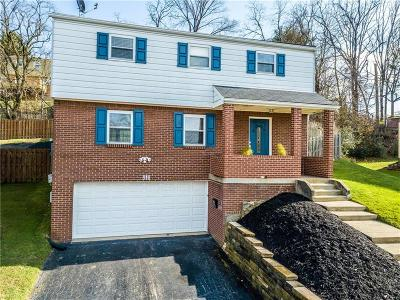 Penn Hills Single Family Home Contingent: 816 Clearview Drive