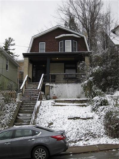 Wilkinsburg Single Family Home For Sale: 1321 Woodlawn Ave