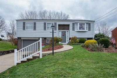 Penn Hills Single Family Home Contingent: 117 Yellowstone Dr